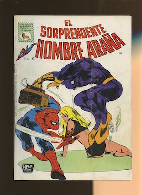 Mexican Spider Man vol 1 #183. Click for values.