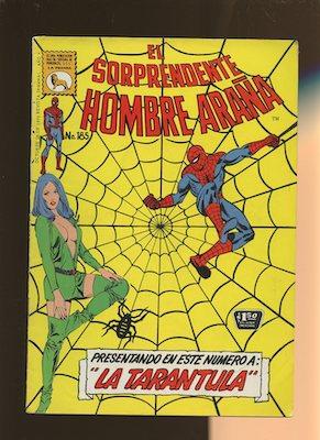 Mexican Spider Man vol 1 #185. Click for values.