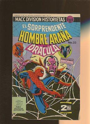 Mexican Spider Man vol 2 #23. Click for values.