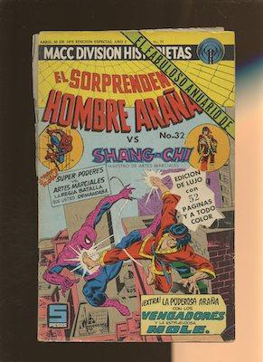 Mexican Spider Man vol 2 #32. Click for values.