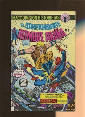 Mexican Spider Man vol 2 #6. Click for values.