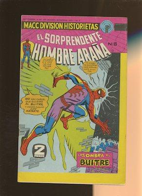 Mexican Spider Man vol 2 #8. Click for values.