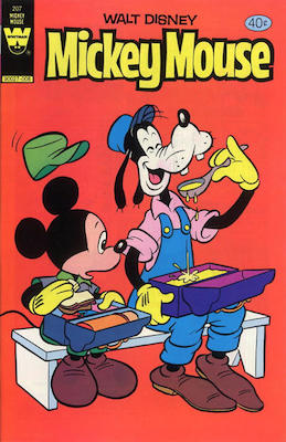 Mickey Mouse #207. Click for current values.