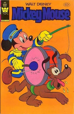 Mickey Mouse #208. Click for current values.