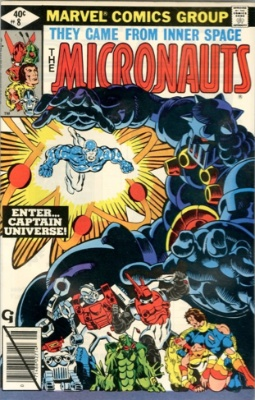 Micronauts #8: first Captain Universe. Who?!
