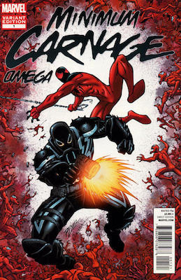 Minimum Carnage: Omega 2nd Printing Variant. Click for values