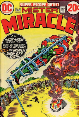 Mister Miracle #11. Click for values.