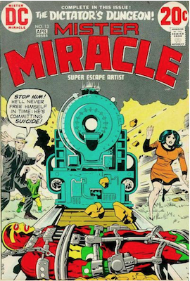 Mister Miracle #13. Click for values.