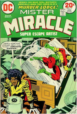 Mister Miracle #17. Click for values.
