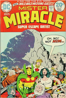 Mister Miracle #18. Click for values.