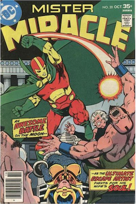 Mister Miracle #20. Click for values.