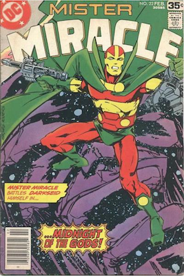 Mister Miracle #22. Click for values.