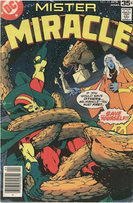 Mister Miracle #23. Click for values.
