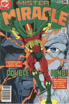 Mister Miracle #24. Click for values.