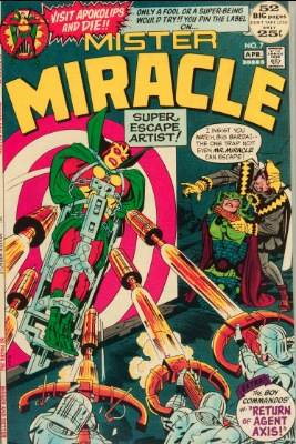 Origin and First Appearance, Kanto, Mister Miracle #7, DC Comics, 1972. Click for value