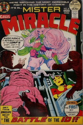Origin and First Appearance, Gilotina, Mister Miracle #8, DC Comics, 1972. Click for value
