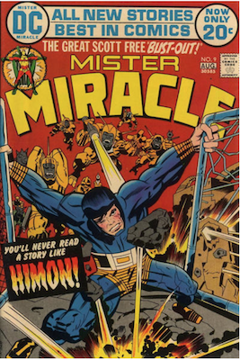 Mister Miracle #9. Click for values.