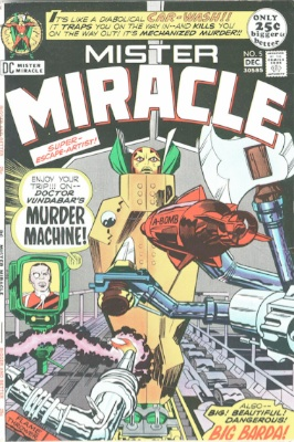 Origin and First Appearance, Virman Vundabar, Mister Miracle #5, DC Comics, 1971. Click for value