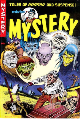 Mister Mystery #10. Click for values.