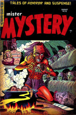 Mister Mystery #18. Click for values.