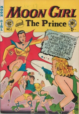 Moon Girl and the Prince #1: Origin and First Appearance, Moon Girl. Click for values