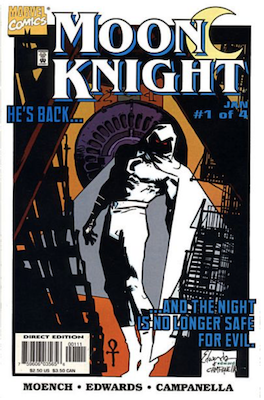 Moon Knight Limited Series #1 (1998). Click for values.
