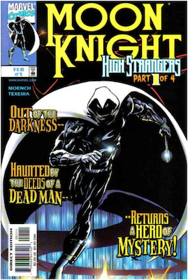 Moon Knight v3 Limited Series #1 (1999). Click for values.