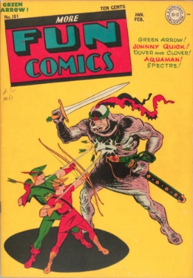 More Fun Comics #101: First Appearance, Superboy. Click for values of this key comic book