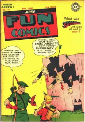 More Fun Comics #103. Click for current values.