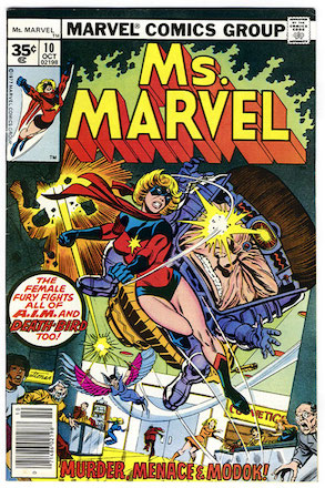 Ms. Marvel #10 35c Price Variant