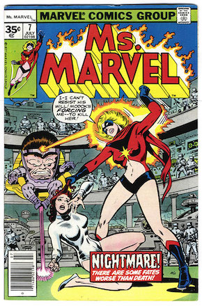 Ms. Marvel #7 Marvel 35 Cent Price Variants