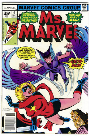 Ms. Marvel #9 35 Cent Price Variant