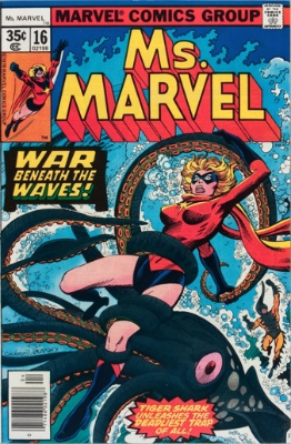 Origin and First Appearance, Mystique, Ms. Marvel #16, Marvel Comics, 1978. Click for value