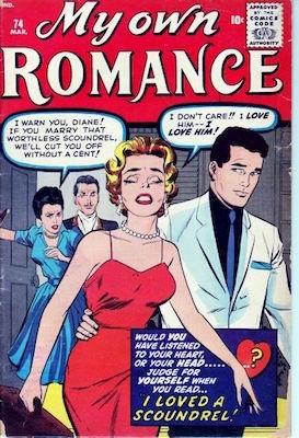My Own Romance #74: Matt Baker cover art. Click for values