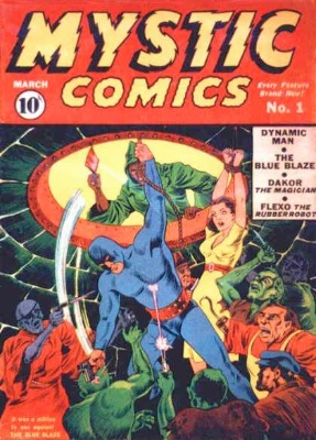 Mystic Comics from Timely. Click for values