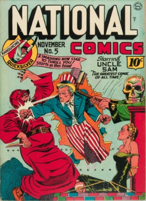 National Comics #5: First Appearance, Quicksilver (Max Mercury). Click for values