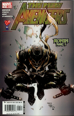 Hot Comics #100: New Avengers 11, 1st Appearance of Ronin. Click to order a copy