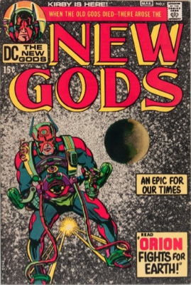 New Gods #1 (Marvel, 1971): Cameo Appearance of Darkseid. Click for values
