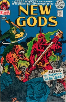 New Gods #7, 1st Steppenwolf. Click for values