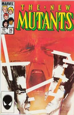New Mutants #26: First Full Appearance of Legion. Click for values