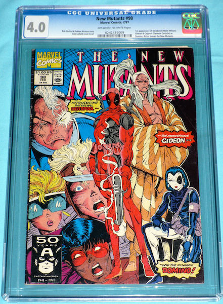 OMG. Yes, you too could be the PROUD owner of this CGC 4.0 example. A snip at just $165 in 2015. Great return on your investment: doubles as a paperweight.