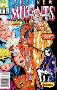 New Mutants #98: First Appearance of Deadpool
