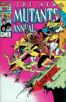 New Mutants Annual #2 (1986): 1st Appearance of Psylocke. Click for value