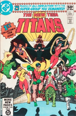 New Teen Titans #1 (November, 1980): First Issue, New Teen Titans. Click for value