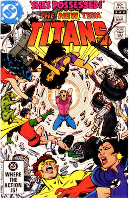 The New Teen Titans #17. Click for values.