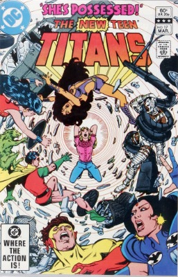 Origin and First Appearance, Magenta, New Teen Titans #17, DC Comics, 1982. Click for value