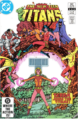 The New Teen Titans #30. Click for values.