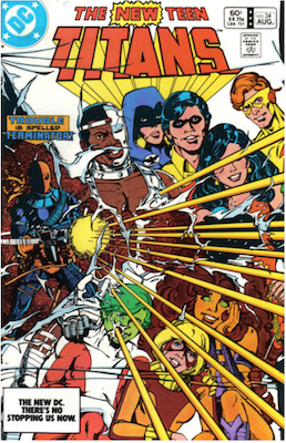 The New Teen Titans #34. Click for values.