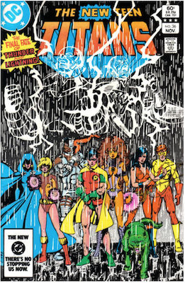 The New Teen Titans #36. Click for values.