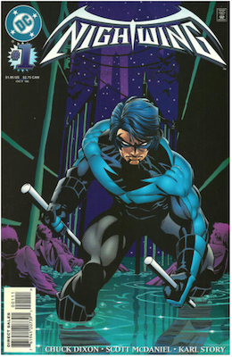 Nightwing #1 (1996). Click for values.